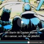 Captain Marvel på dödsbädden