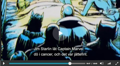 Captain Marvel på dödsbädden